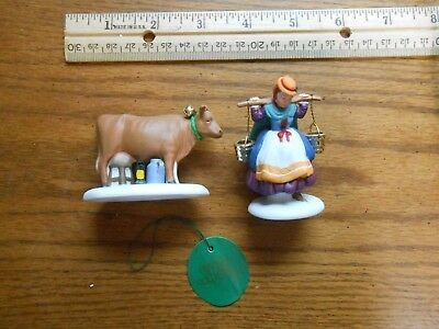Eight Maids A Milking Dept 56 Dickens Village VIII Twelve Days of Christmas