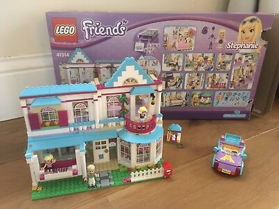 Lego Friends Stephanies House 41314 With Box Instructions Extra