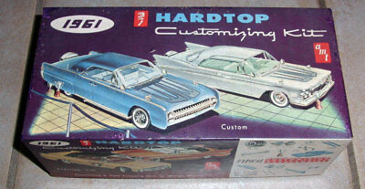 57 year old AMT 1961 Lincoln Continental HT  3in1 customizing kit