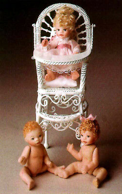 Parker Levi Baby Eric 2 inches full porcelain doll mold
