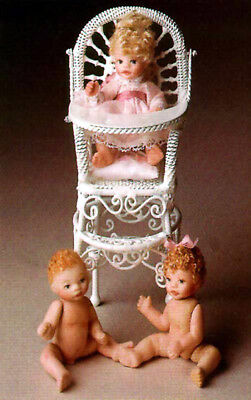 Parker Levi Baby Betsy 2 inches full porcelain doll mold