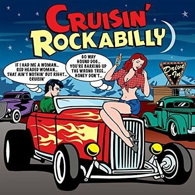Cruisin' Rockabilly - 75 Various Tracks On 3CDs NEW/SEALED