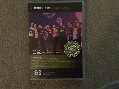 Les Mlls Bodycombat. Instructor DVD, CD and notes, great workout