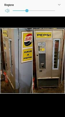 Vintage pepsi cola machine