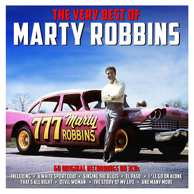 Marty Robbins - The Very Best Of - Greatest Hits 3CD NEW/SEALED