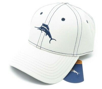 c26ab976905 TOMMY BAHAMA MARLIN Camper Stone Color Adjustable Golf Hat Ball Cap ...