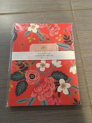 Rifle Paper Co Notebook Set Of 2