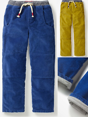 MINI BODEN boys trouser corduroy lined 2 3 4 5 6 7 8 9 10 11 12 years RRP £35+