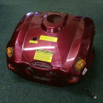 Freerider Mayfair Mobility Scooter Rear Chassis Cover In Red