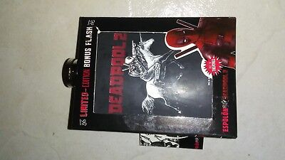 Limited Edition Deadpool 2 Dp 2 Marvel  Espolon Tequila Unique Collector Flask