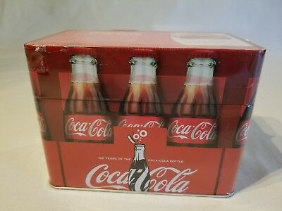 Sealed Coca-Cola® Recipe Card Tin Collection New 78 Recipes Included Collectible