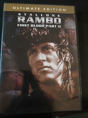 Rambo First Blood Part 2 - DVD - Stallone - Ultimate Edition