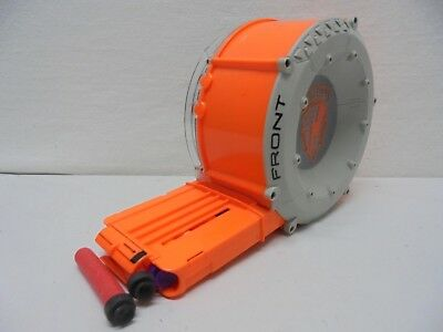 Nerf N-Strike 35-Round Drum Clip 35-Shot Dart Gun Ammo Magazine w/ some darts