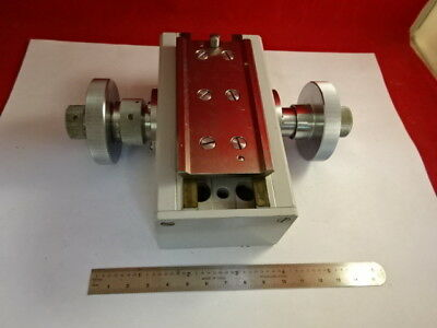 Zeiss Photomic Stage Knobs Mechanism Micrometer Microscope Part As Is #67-97