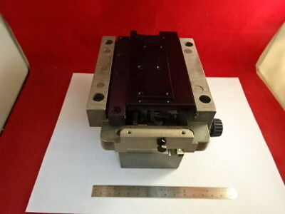 Leica Dmrb Stage Mechanism Micrometer Microscope Part As Is #67-96