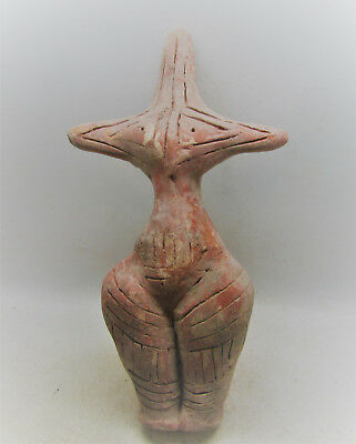 Neolithic Romania Cucuteni-Trypillia Culture Mother Goddess Idol