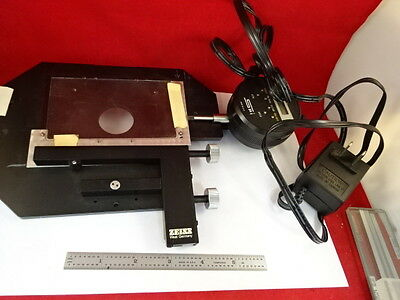 Zeiss Germany Stage Spi Micrometer Specimen Table Microscope Part &79-24