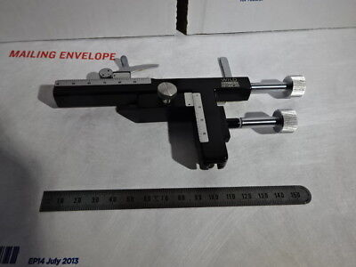 Wild Swiss M20 Stage Clips Micrometer Microscope Part Optics As Pictured &96-15