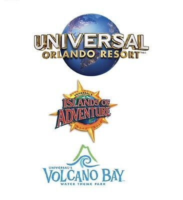 UNIVERSAL STUDIOS ORLANDO TICKET 5 DAYS 3 Park-To-Park PROMO DISCOUNT SAVE