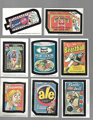 1975 Topps Wacky Packages Original 13th Series 13 Complete