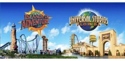 Universal Studios Orlando Ticket 5 Days 2 Parks Promo Discount Save ~ Special!