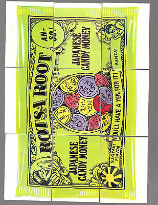 1975 Topps Wacky Packages 14th Series 14 Complete Puzzle Rotsa Root