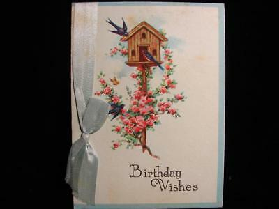 "Vintage ""here's Just A Wish Or Two!!"" Birthday Greeting Card"
