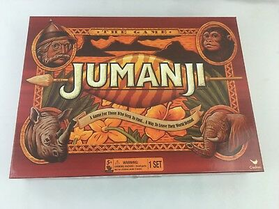 """Jumanji """"The Game"""" Board Game - By Cardinal - COMPLETE"""