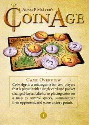 Tasty Minstrel Boardgame Coin Age Zip NM