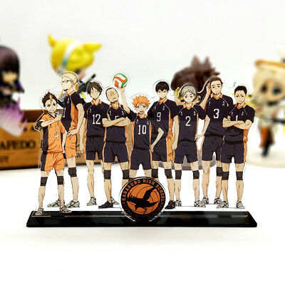Haikyuu!! Karasuno High School family shoyo tobio acrylic stand figure anime toy