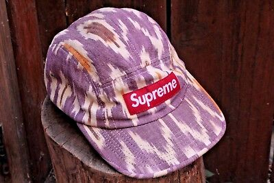 4d7eb8671f6 SUPREME ARABIC SNAPBACK Hat 5 Panel Camp Cap Box Logo Undercover Ss ...