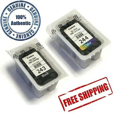 Canon PG-243 Black and CL-244 Color Ink Cartridge Kit