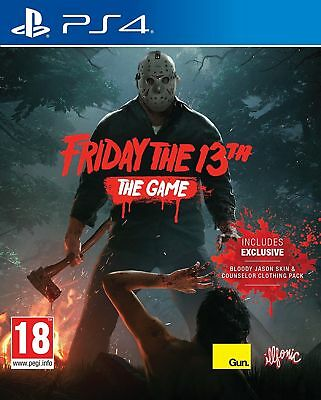 Friday The 13th The Game (Sony PlayStation 4, 2017)