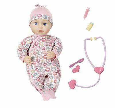 """Zapf Creation 701294"""" Baby Annabell Milly Feels Better Puppe, bunt"""