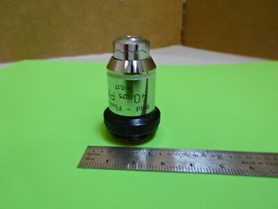 Sauvage Heerbrugg Suisse M20 Objective Phase 40X Microscope Pièce Optiques