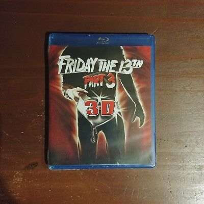 Friday the 13th Part 3: 3D (Blu ray) - 1980's Slasher Movie