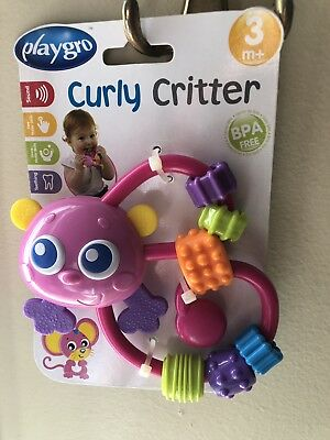 Playgro Curly Butterfly Critter