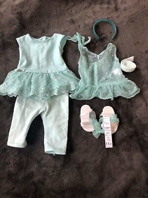 "American Girl TRULY ME SPRING BREEZE DRESS for 18"" Dolls Outfit Clothes"