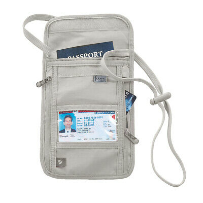 Lewis N. Clark RFID Blocking Travel Neck Wallet Stash Passport Security Pouch
