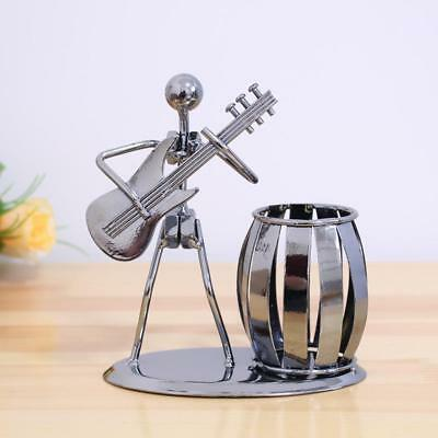 Metal Musician Player Collectible Figurine - Electric guitar Player Supply