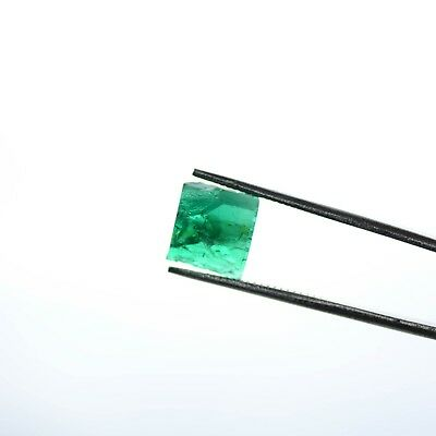 2.7ct Chatham (Flux) Emerald Lab Created Faceting Rough Stone
