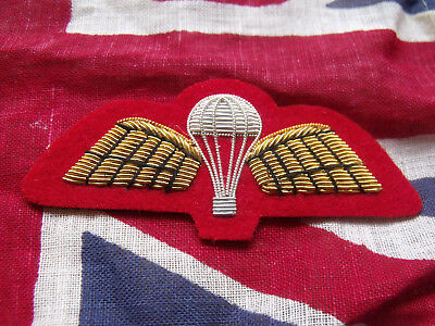 Para qualification wing for mess dress