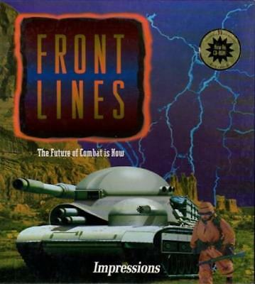 Impressions Computer Game Front Lines VG+