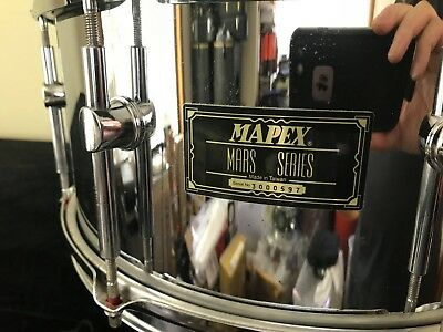 price drop MAPEX MARS CHROME SHELL SNARE- MAKE AN OFFER -MUST SELL