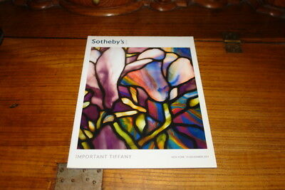 Sotheby's Catalogue-Important Tiffany,15Th December 2011