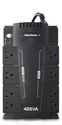 8 Outlet UPS Battery Backup Computer Uninterruptible Power Supply Surge Protect