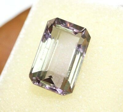 GGL Certified 9.50 Ct Astonishing Emerald Cut Color Changing Alexandrite Gem