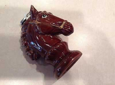 Vintage redware horse head lighter (Japan)