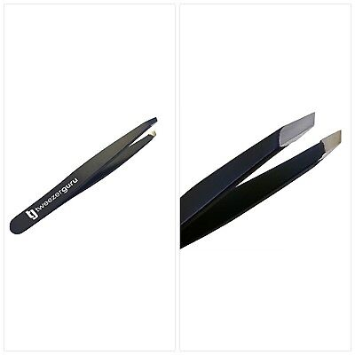 Slant Tweezers - TweezerGuru Professional Stainless Steel Slant Tip Tweezer - Th