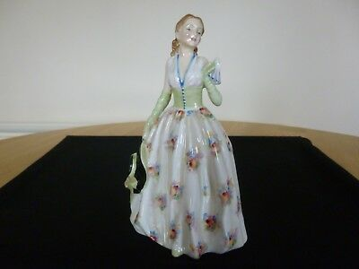 RARE Old Royal Doulton Figure Carolyn HN 2122 - Immaculate -  Stunning Lady
